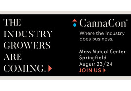 CannaCon, a premier B2B cannabis expo will be in Springfield, Massachusetts on August 23rd-24th.