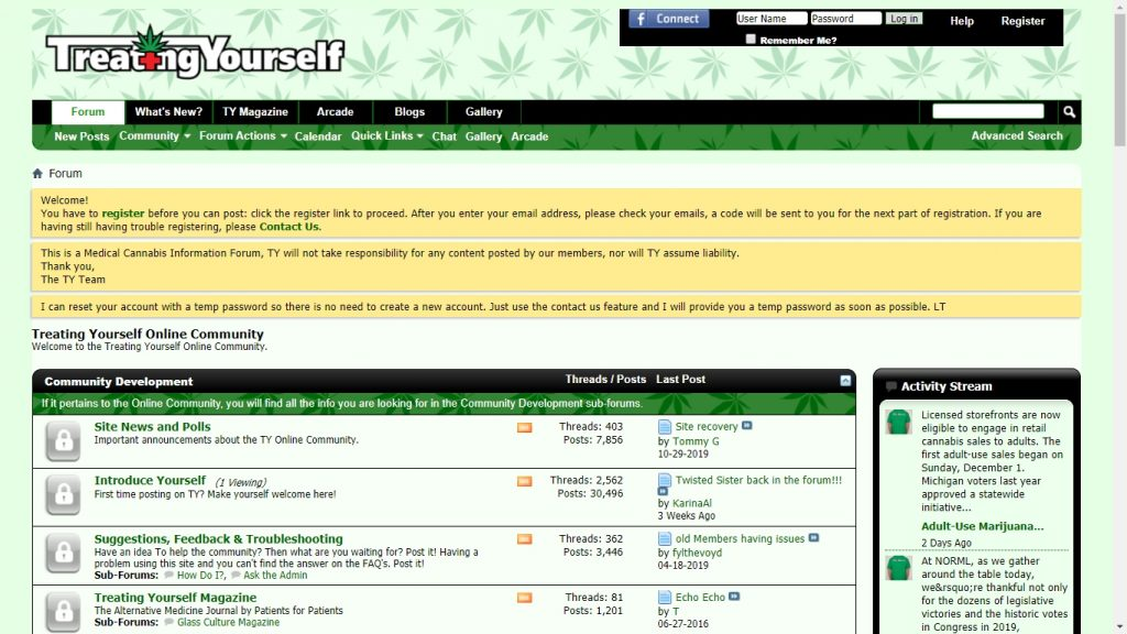 medical cannabis discussion forums online